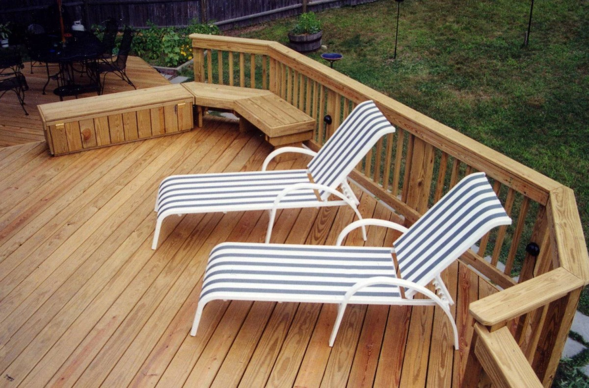Choices for your wood deck an introduction suburban for What is the best wood for decking
