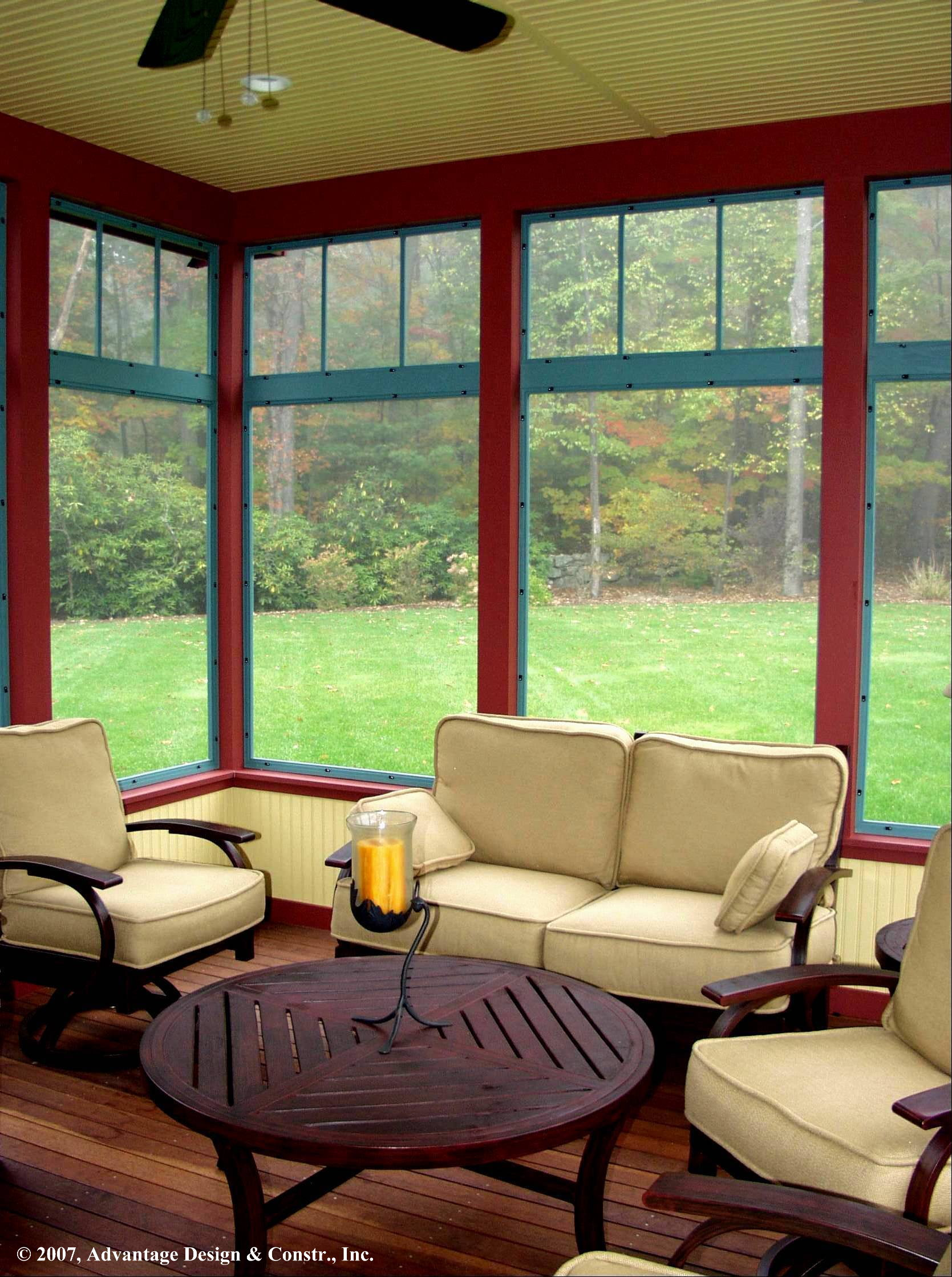 Six kinds of porches for your home suburban boston decks for What is a 3 season porch