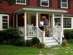 Front Entry Porch, Lincoln, MA