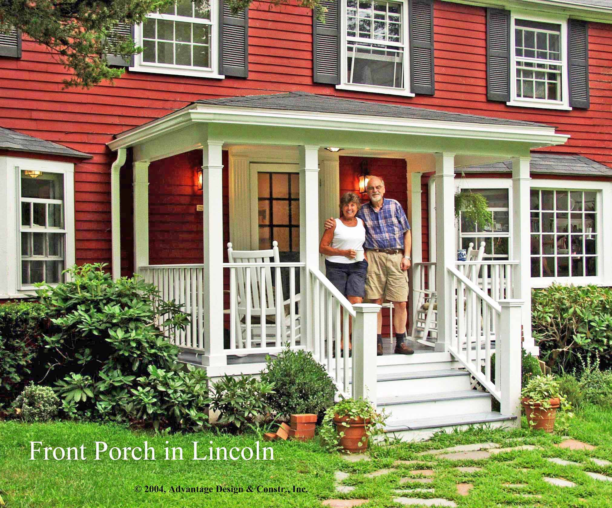 Wood Side Porch ~ Six kinds of porches for your home suburban boston decks