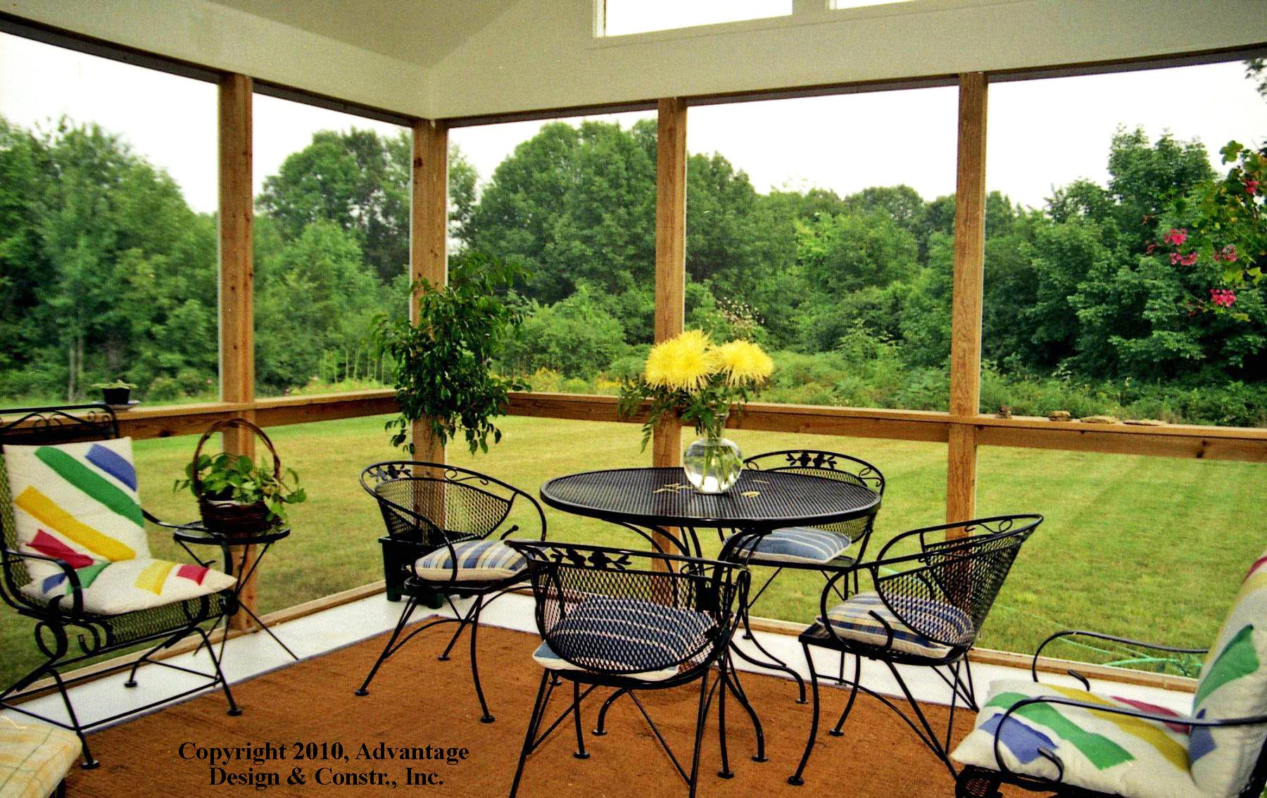 3 key features for a super sunroom suburban boston decks for Backyard sunroom