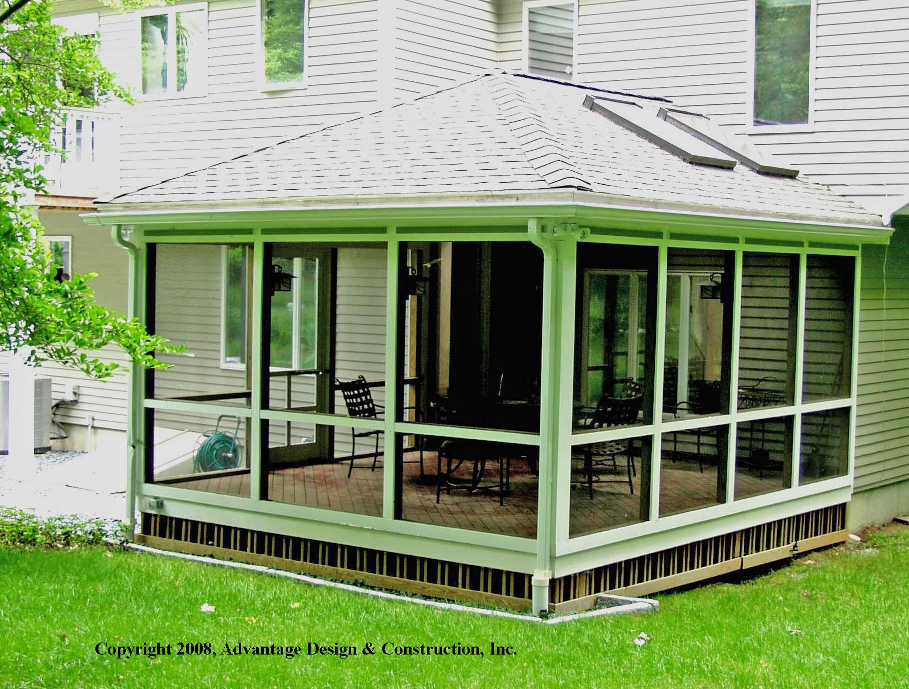 3 key features for a super sunroom suburban boston decks for Sunroom roofs