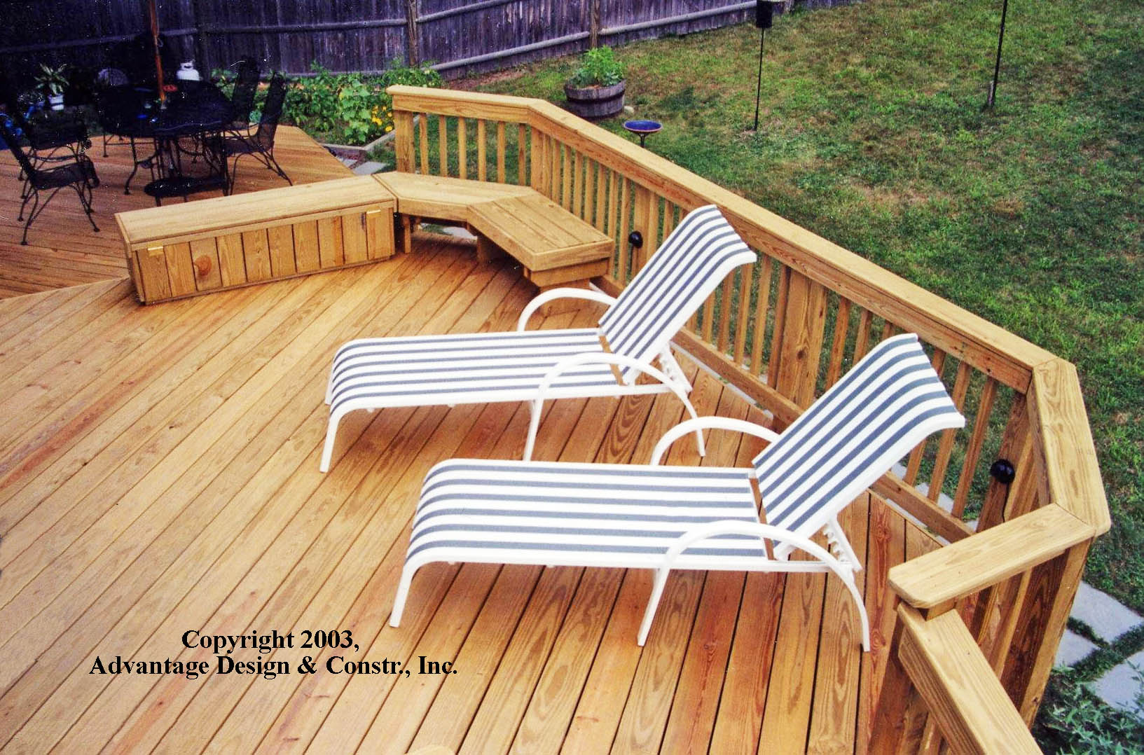 Are you feeling pressured to treat your pressure treated deck and baanklon Images