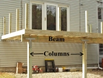 Deck Beam and Columns
