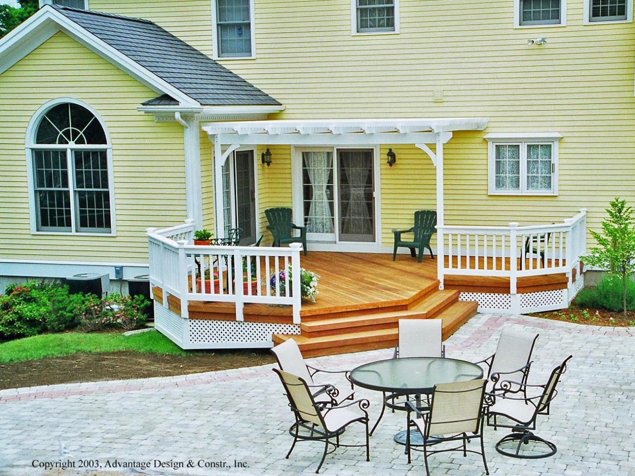 choosing a deck or a patio suburban boston decks and porches blog - Deck Vs Patio