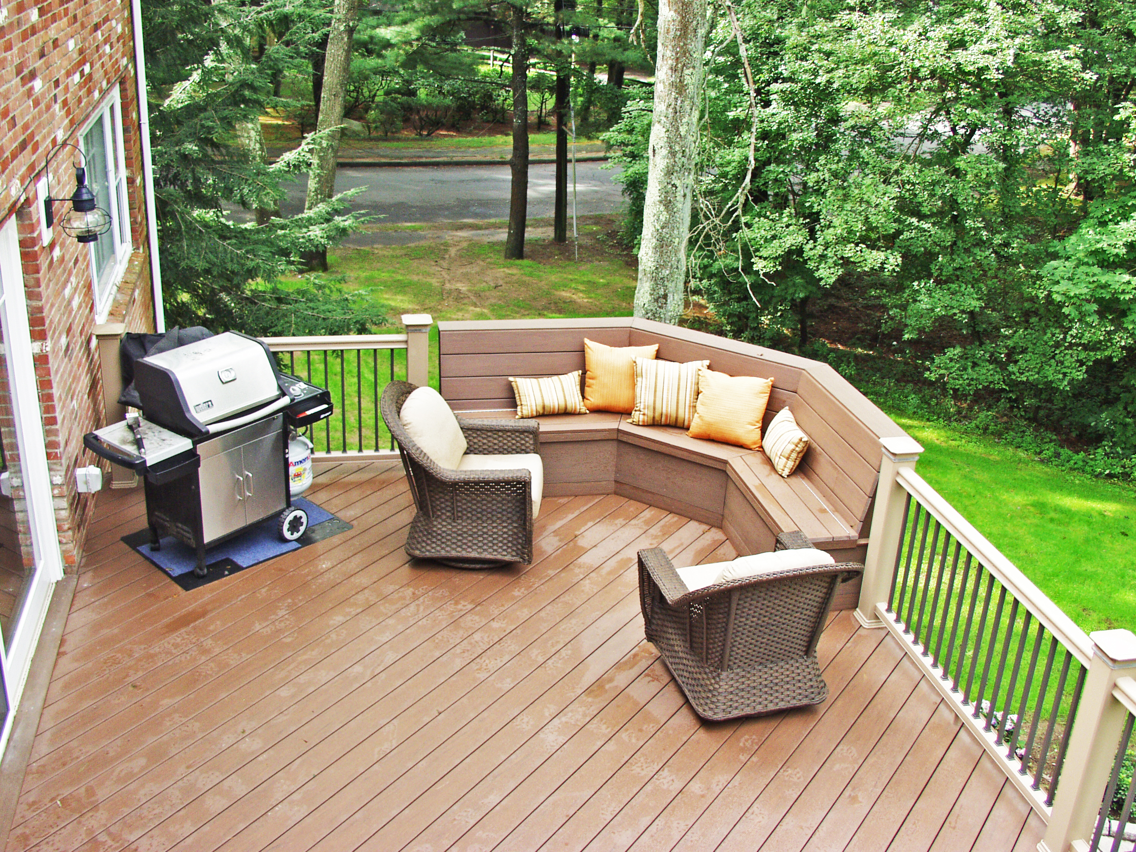 what is a freestanding deck and why would you want one suburban boston decks and porches blog. Black Bedroom Furniture Sets. Home Design Ideas