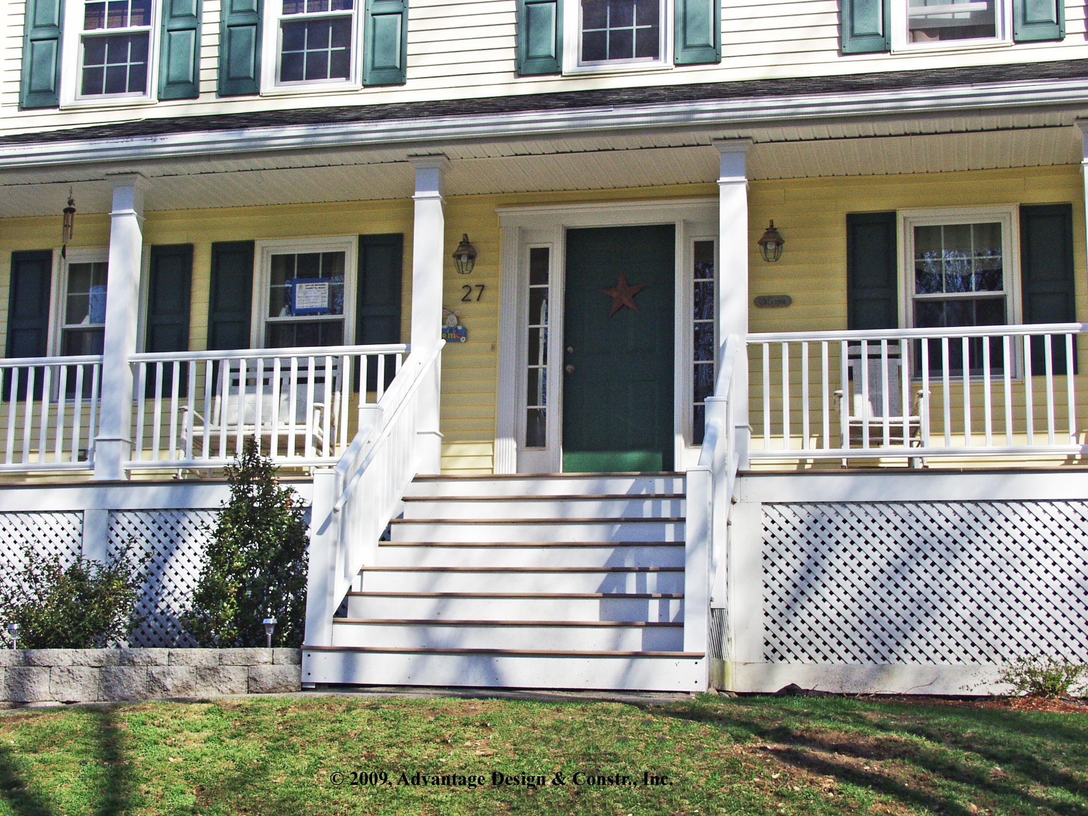Front Porches A Pictoral Essay Suburban Boston Decks