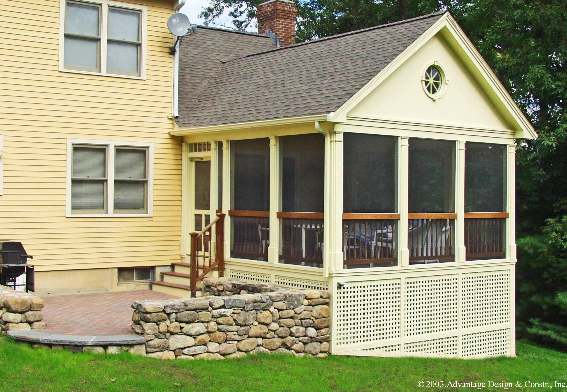 ... Convert Screen Porch To Sunroom : Suburban Boston Decks And Porches  Archadeck Over ...