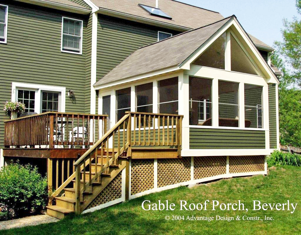 Want to convert your deck to a porch suburban boston for Porches prices