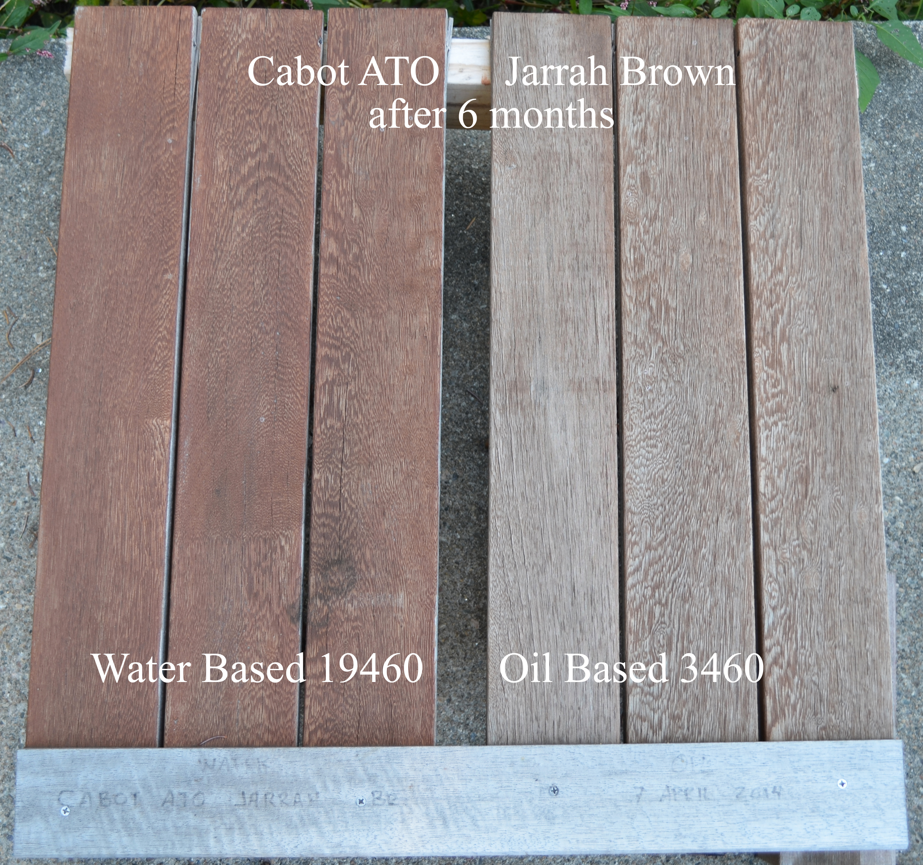 How Good is Cabot's New Water-Based ATO Stain? – Suburban ...