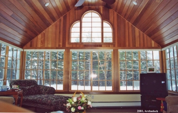 What Is A Cathedral Ceiling And Why Would Your Porch Or