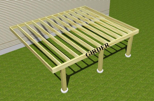 What is a cantilever and why would your deck want one for 16x16 deck material list