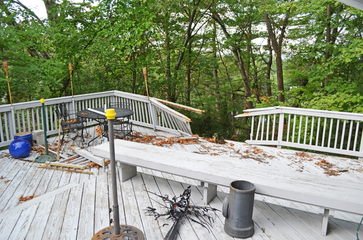 How long will your deck last suburban boston decks and for Www porches com